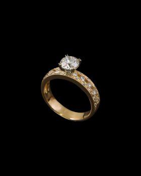 1 ct ring BJ10197R