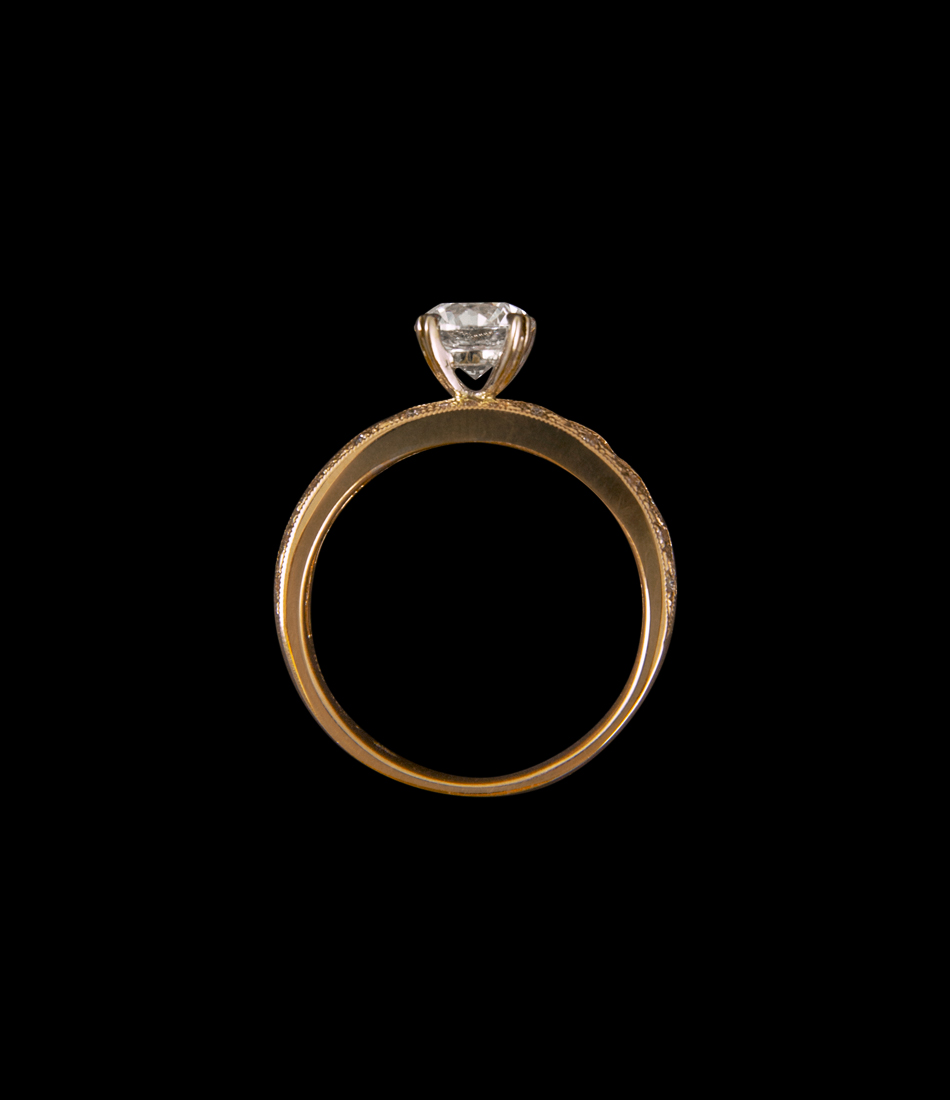 1 ct ring BJ10197R front