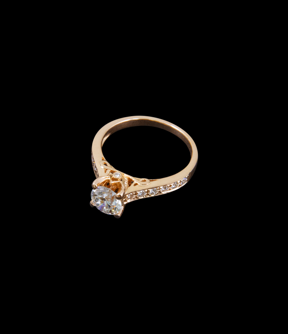 1 ct ring BJ10197R front2