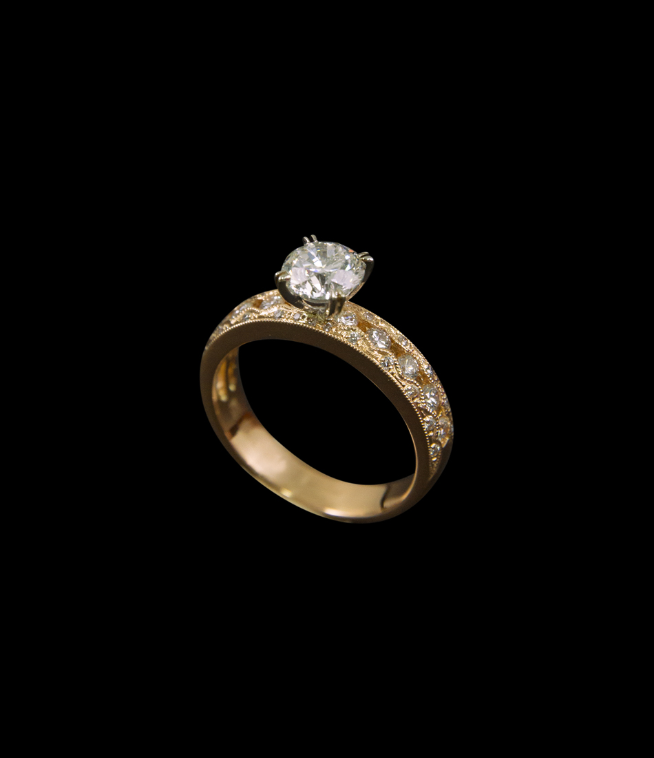 1 ct ring BJ10197R