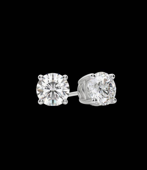 Studs diamond earrings Guerci 7532-33